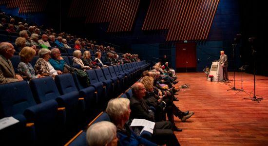Frå 100-årsjubileet i Bjørnsonhuset 25. august 2021